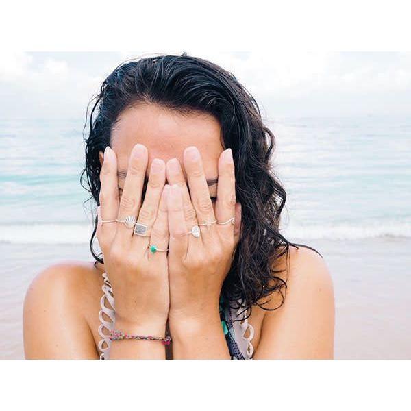 At Aloha Shell Ring
