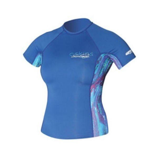 C-Skins Dames Lycra Blauw/Paars