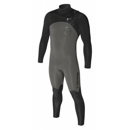 C-Skins C-Skins ReWired 5/4 Heren Winter Wetsuit Gunmetal/Black