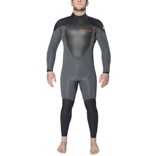 C-Skins C-Skins Wired 5/4 Heren Winter Wetsuit Grijs/Zwart