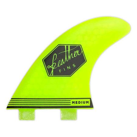 Feather Fins Feather Fins FCS Ultralight Thruster Fins Yellow