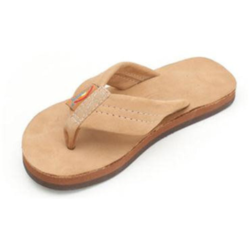 Rainbow Sandals Rainbow Kinder Premier Leather Sierra Brown Slippers
