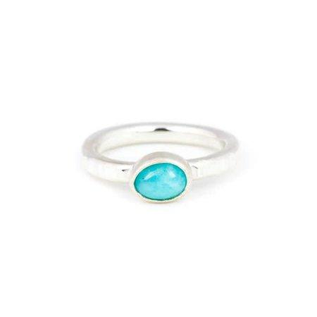 A Little Lem A Little Lem Claire The Criminal Peruvian Amazonite Ring