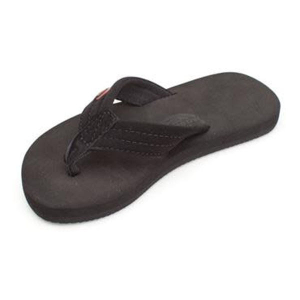 Rainbow Kinder Grombows Soft Rubber Black Sandals
