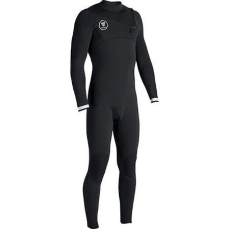 Vissla Vissla 7 Seas 3/2 Heren Zomer Wetsuit Black/White