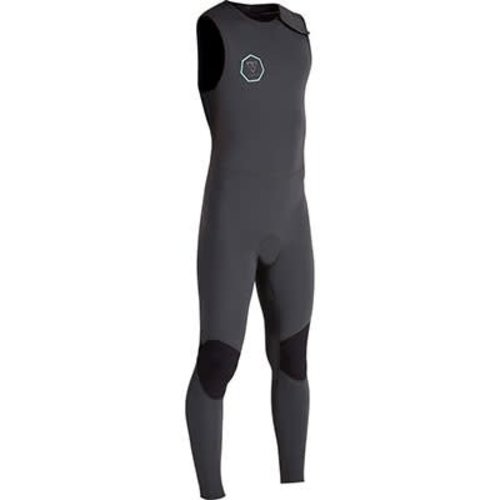 Vissla Vissla 7 Seas 2/2 Long John Zomer Wetsuit Dark Grey