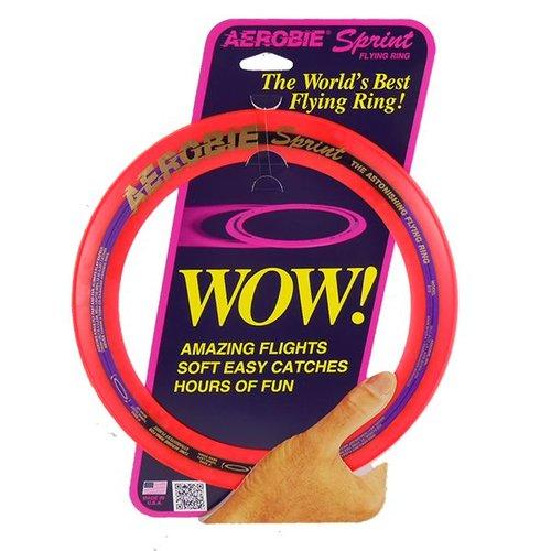 Aerobie Aerobie Sprint Ring Frisbee Red