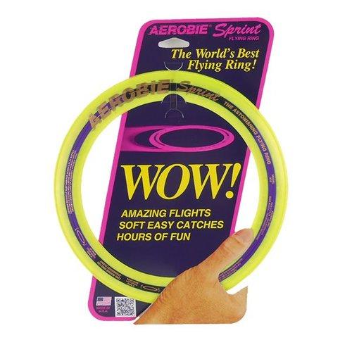 Aerobie Aerobie Sprint Ring Frisbee Yellow
