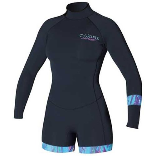 C-Skins C-Skins Boyleg Solace 2mm Dames Wetsuit Shorty