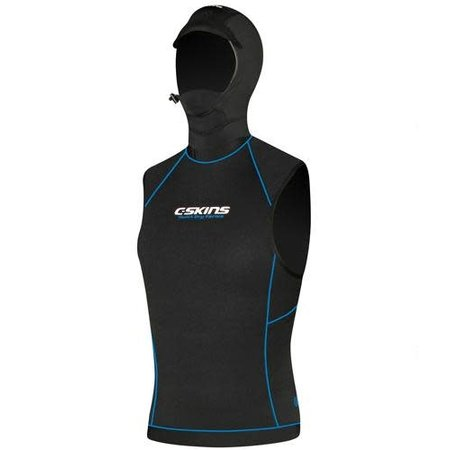 C-Skins C-Skins HotWired Quick Dry Hooded Vest Thermal Layer