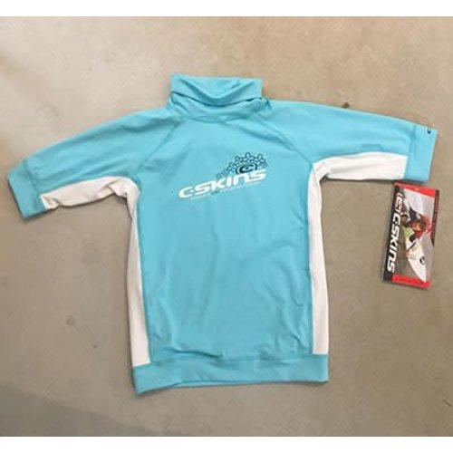 C-Skins C-Skins Children's Lycra Short Sleeve Blue