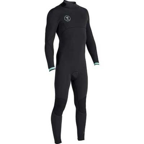 Vissla Vissla 7 Seas 4/3/2 Men's Summer Wetsuit Back Zip Black