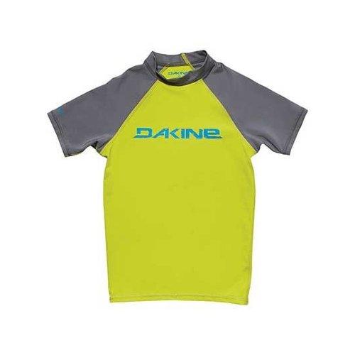 Dakine Dakine Children's Lycra Short Sleeve Green/Grey