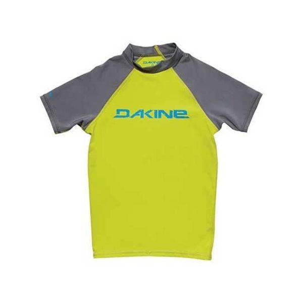 Dakine Kinder  Lycra Short Sleeve Groen/Grijs