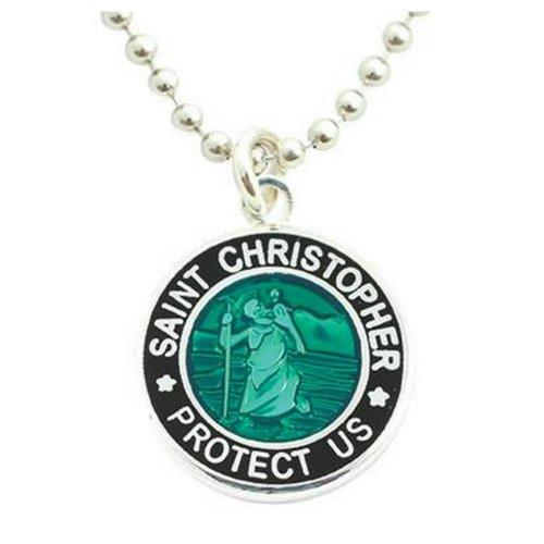 Saint Christopher Saint Christopher Zwart/Groen Ketting