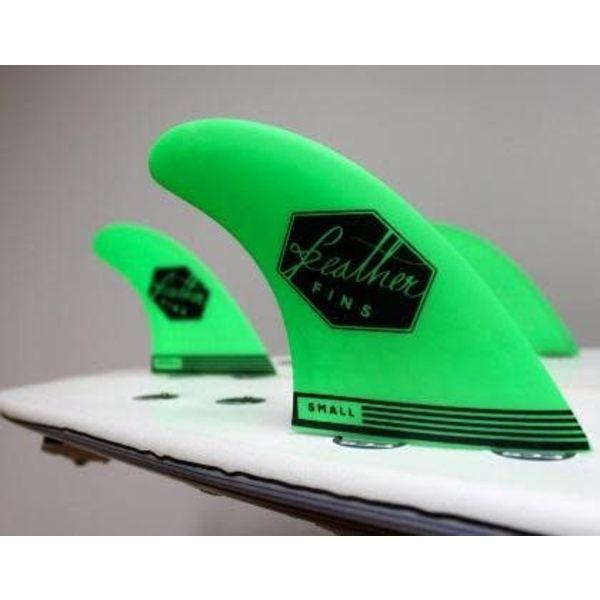 Feather Fins FCS Ultralight Thruster Fins Green