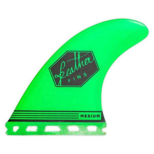 Feather Fins Futures Ultralight Thruster Fins Green