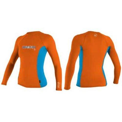 O'Neill O'Neill Skins Kids Lycra Long Sleeve Neon/Roze Oranje