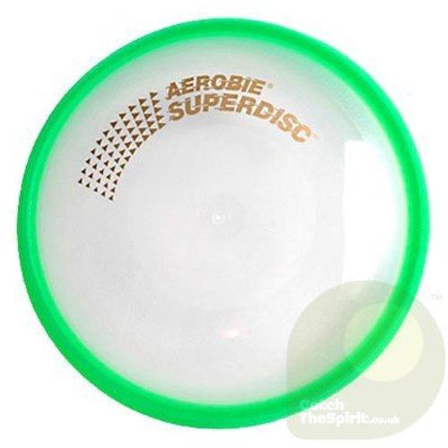 Aerobie Aerobie Superdisc Ultra Frisbee Groen