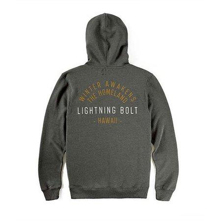 Lightning Bolt Lightning Bolt Homeland Groene Zip Hoodie