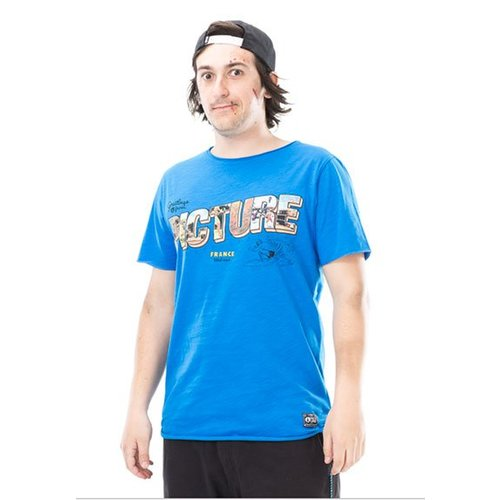 Picture Organic Clothing Picture Heren Westcoast Blue Tee