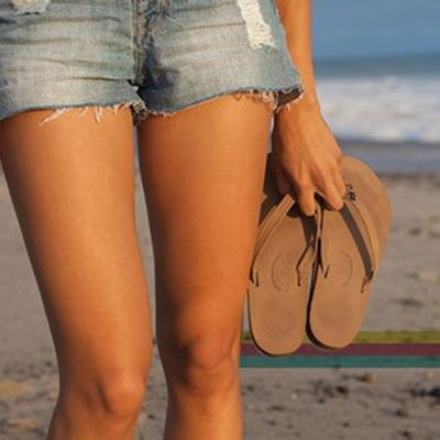 Women's shoes and flip flops