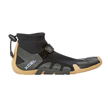 Xcel Xcel Infiniti 1mm Split Toe Reef Boot Black/Gum