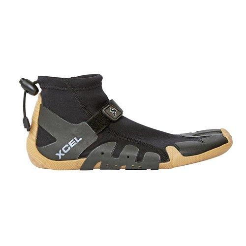 Xcel Xcel Infiniti 1mm Split Toe Reef Boot Black/Gum