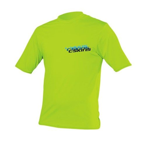 C-Skins C-Skins Kids Lycra Short Sleeve Lime