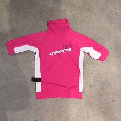 C-Skins C-Skins Girls Lycra Short Sleeve Pink