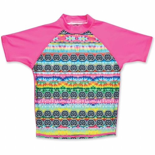 Dakine Dakine Girls Lycra Short Sleeve Cosmic Gem