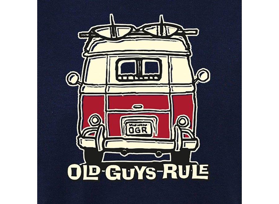 Old Guys Rule Heren Good Vibrations Tee
