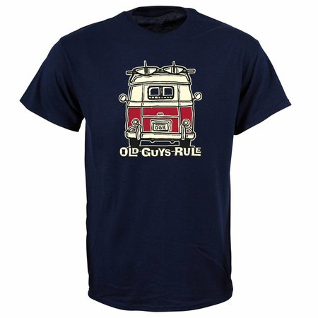 Old Guys Rule Old Guys Rule Heren Good Vibrations Tee