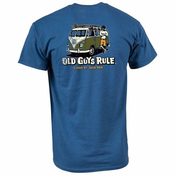 Old Guys Rule  Heren Stand By Your Van Tee