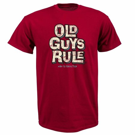 Old Guys Rule Old Guys Rule Heren Aged To Perfection Tee