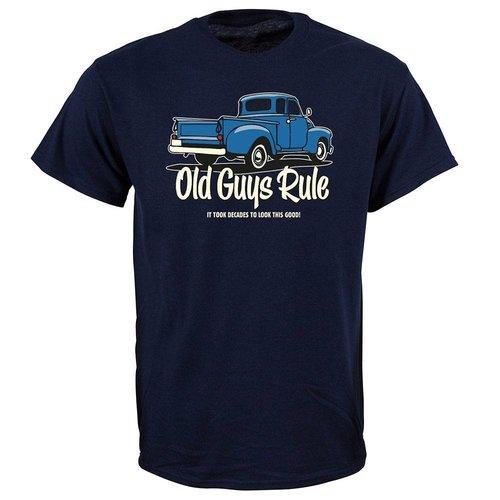 Old Guys Rule Old Guys Rule Heren It Took Decades Tee