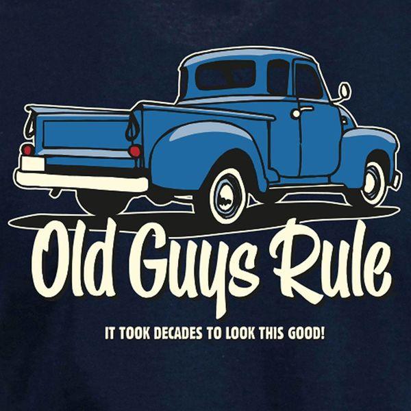 Old Guys Rule Heren It Took Decades Tee
