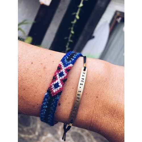 At Aloha At Aloha Wave Surf Love Armband / Enkelband