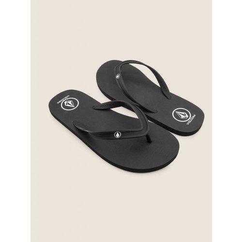 Volcom Volcom Heren Rocker 2 Solid Black Slippers