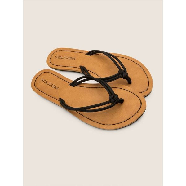 addfa8d5041 Volcom Dames Forever 3 Black Slippers kopen  - Aloha surf