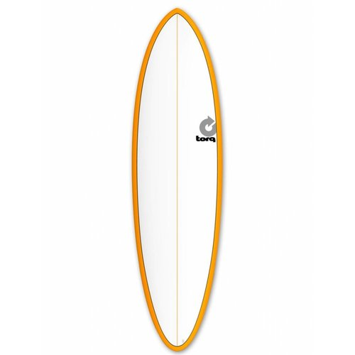 Torq Torq Funboard Orange/White Deck 6'8''