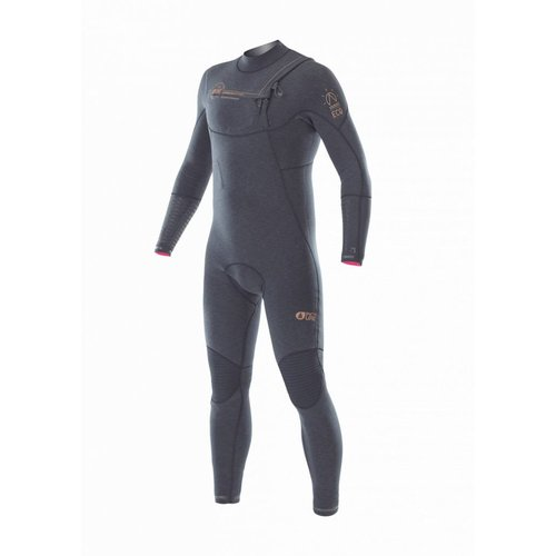 Picture Organic Clothing Picture Dome 4/3 Heren Zwart Zomer Wetsuit