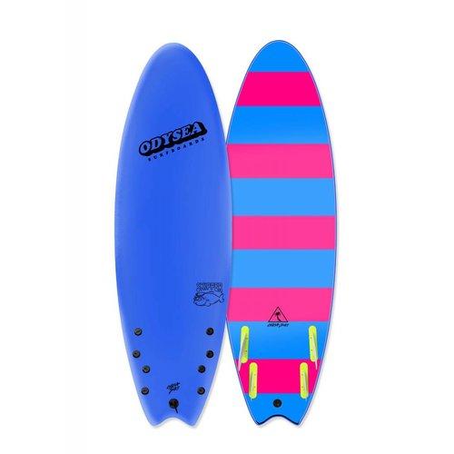 Catch Surfboards Catch Odysea 6'0'' Skipper Quad Azul Blue