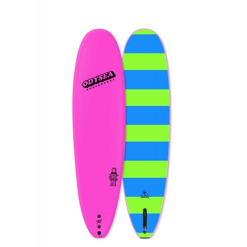 Catch Surfboards Catch Odysea 8'0'' Plank Single Fin Hot Pink