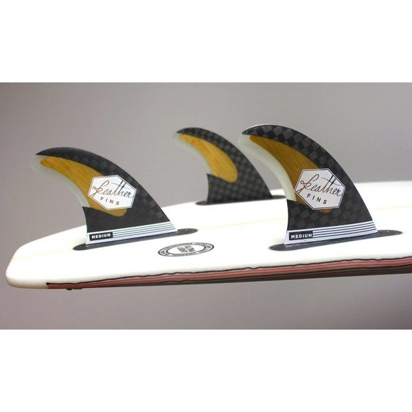 Feather Fins Futures Bamboo & Carbon Thruster Fins