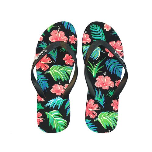 Urban Beach Urban Beach Dames Black Aiea Slippers