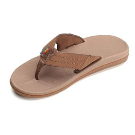 Rainbow Sandals Rainbow Kids Capes Sierra Brown Molded Rubber Sandals
