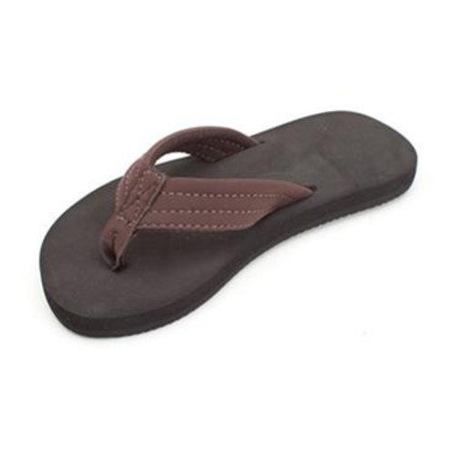 Rainbow Sandals Rainbow Children's Brown Strap Sandals