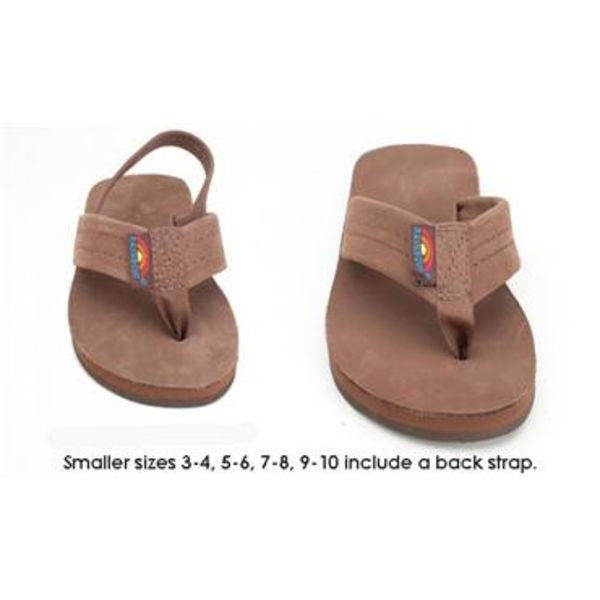 Rainbow Kinder Premier Leather Sierra Brown Slippers