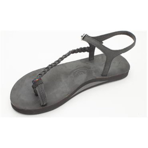 Rainbow Sandals Rainbow Dames Marley Black Sandals